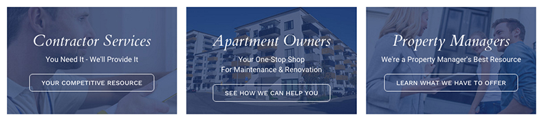 Tashman-Home-Center-Special-Features | Contractor Services, Apartment Owner Services, Property Managers