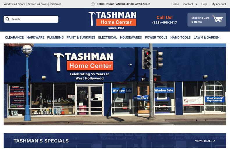 Tashman Home Center Online | Tashman Home Improvement Store Los Angeles