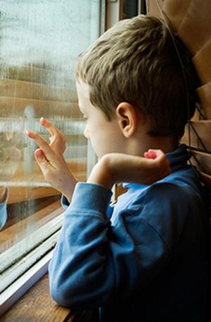 child at window   Tashman Home Center Los Angeles