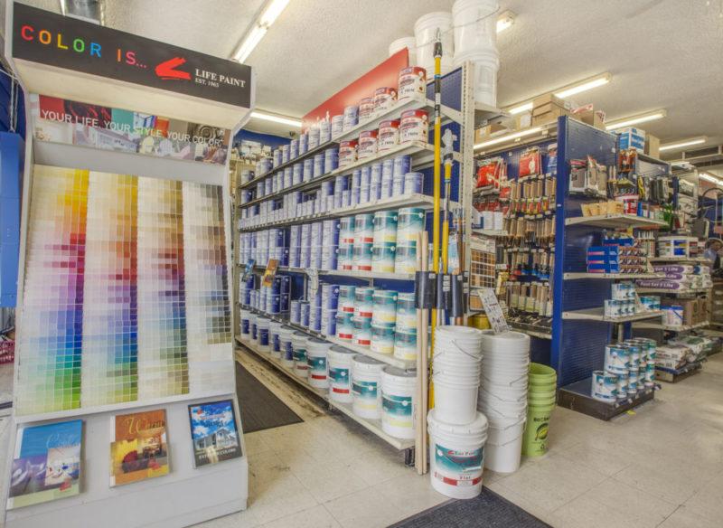Tashman Hardware Store Los Angeles - Paint Section