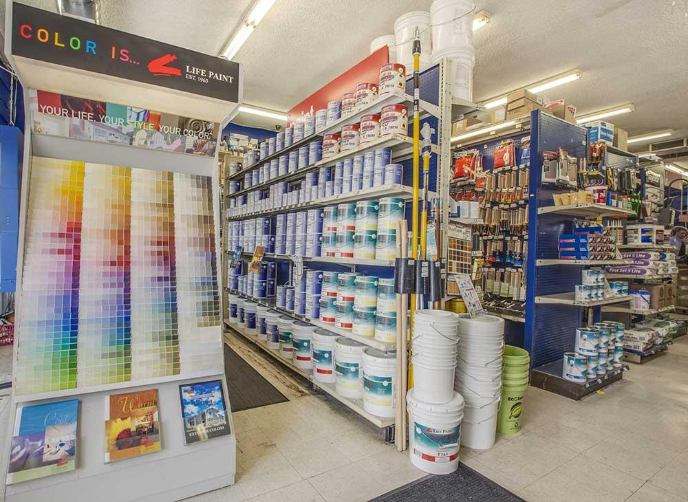 Paint & Paint Supplies   Tashman Hardware Store Los Angeles