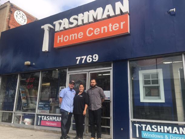 Tashman New Installation Team