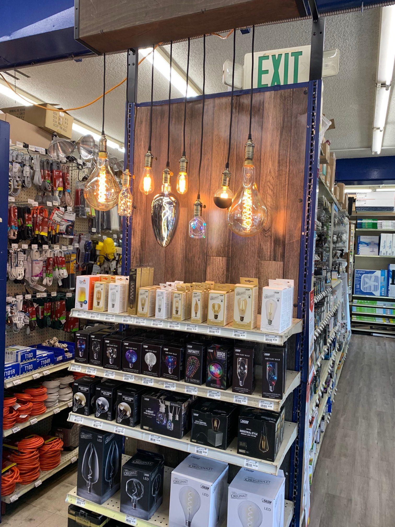 Tashman light bulbs